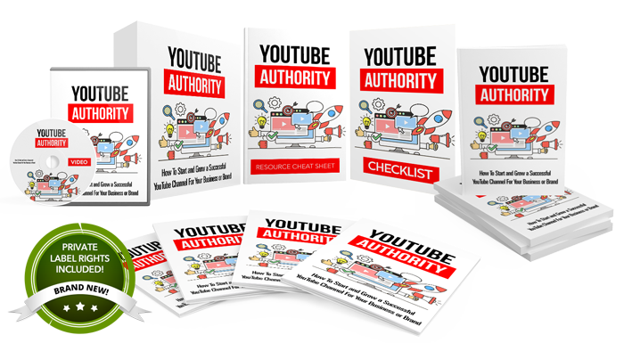 Complete YouTube Authority PLR Product Pack