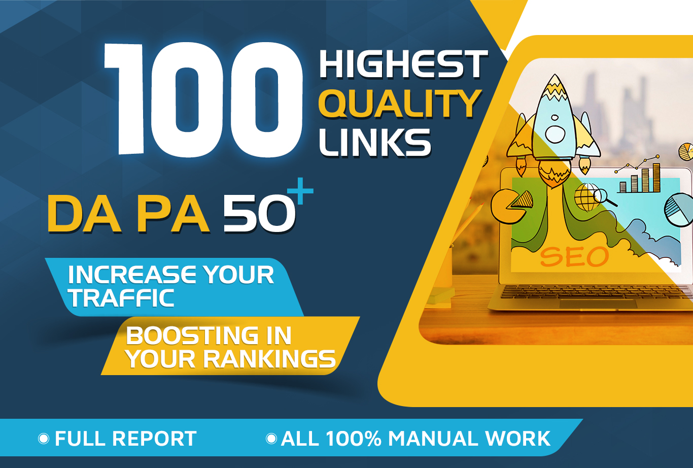 Get 100+highest Quality link all 50DA+