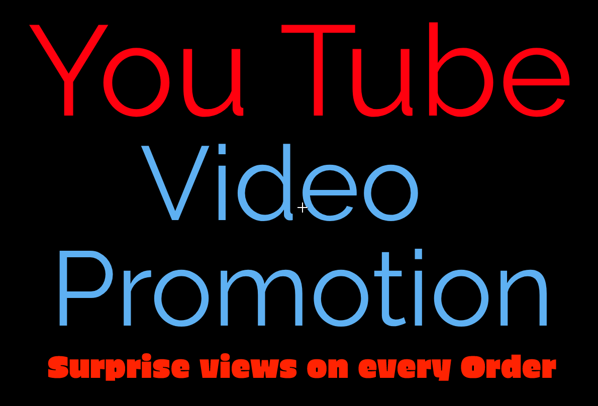 I will add 50000+ High Quality and non-drop youtube promotion