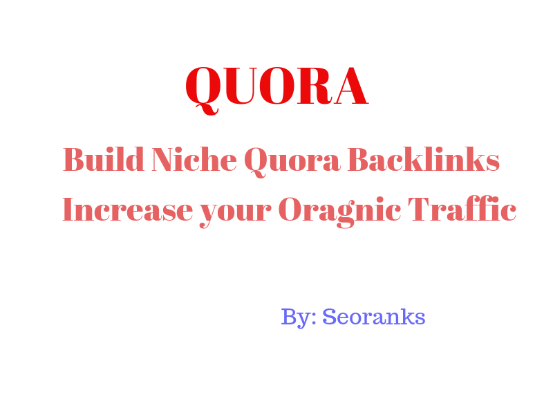 Quora Domain Authority Quality Backlink