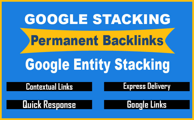 I will do google entity stacking permanent contextual links to boost ranking