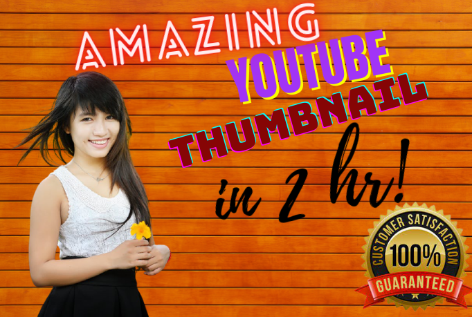 I will design awesome you-tube Thumbnail for your yt chanel video