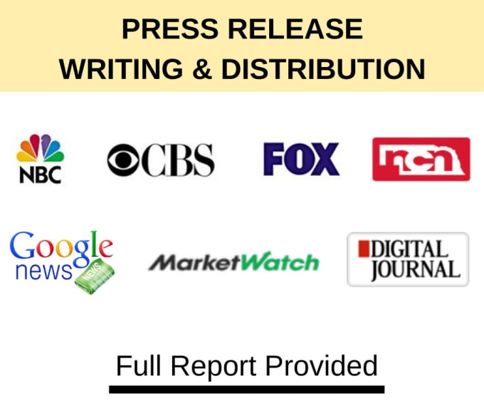 I will write and distribute a press release
