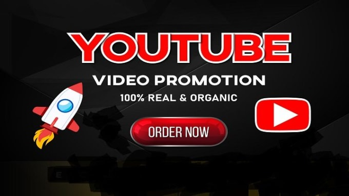 Fast HQ youTube video Organic promotion with safe audience