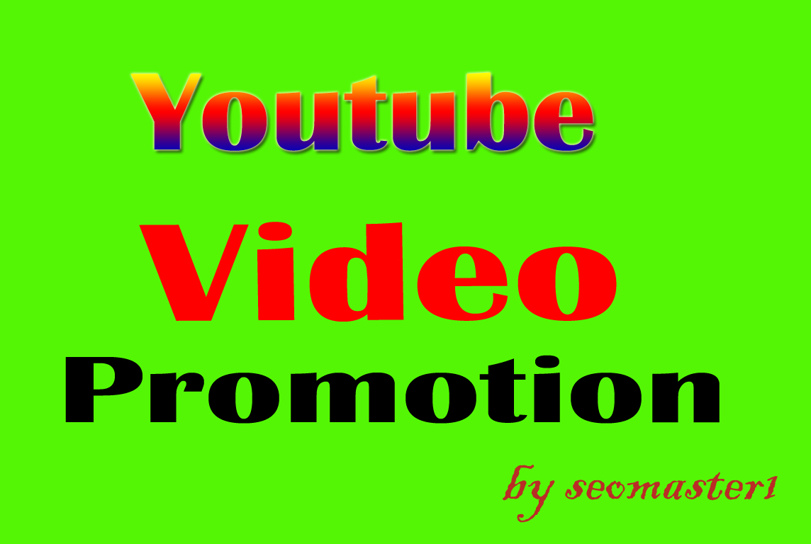 Youtube video Promotion non drop guarantee
