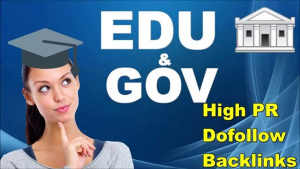 Provide 40 dofollow edu/gov to get google ranking improves