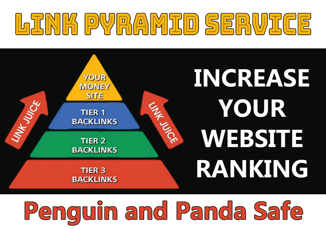 SKYROCKET your web/blog Rank By 1260 Tier on google by Exclusive SEO LINK PYRAMID