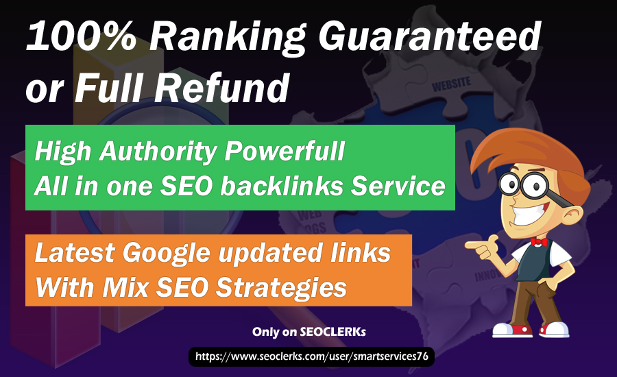 will build PBNs, Social Profile links,  Niche Relevant backlinks & etc All SEO Strategy backlinks