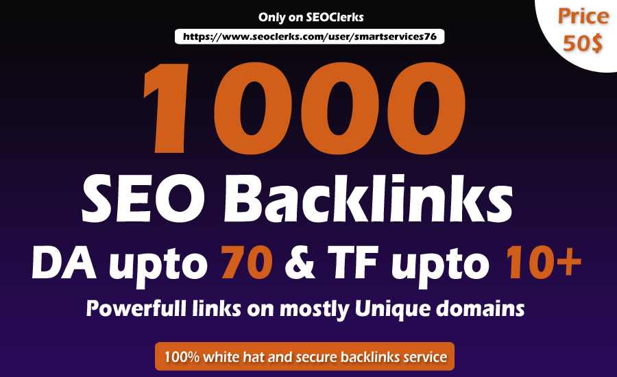 i will do Manually 1000 high TF,  CF Dofollow Blog comments backlinks on high DA blogs
