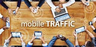 4000 Mobile traffic from any country in the world
