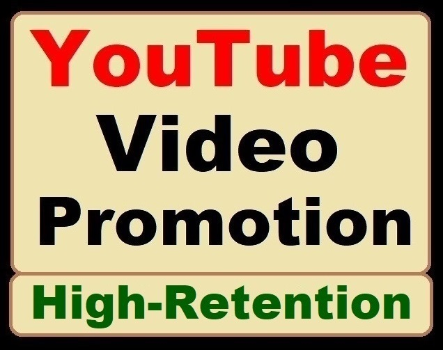 ORGANIC YOUTUBE VIDEO PROMOTION and Get Rank Via Real Audience