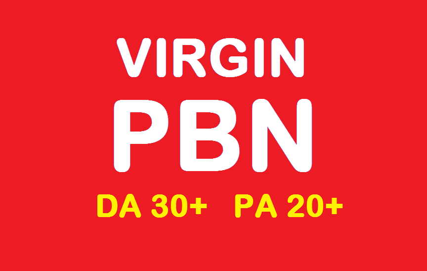 10 VIRGIN PBN Backlinks with Quality Domain Attributes