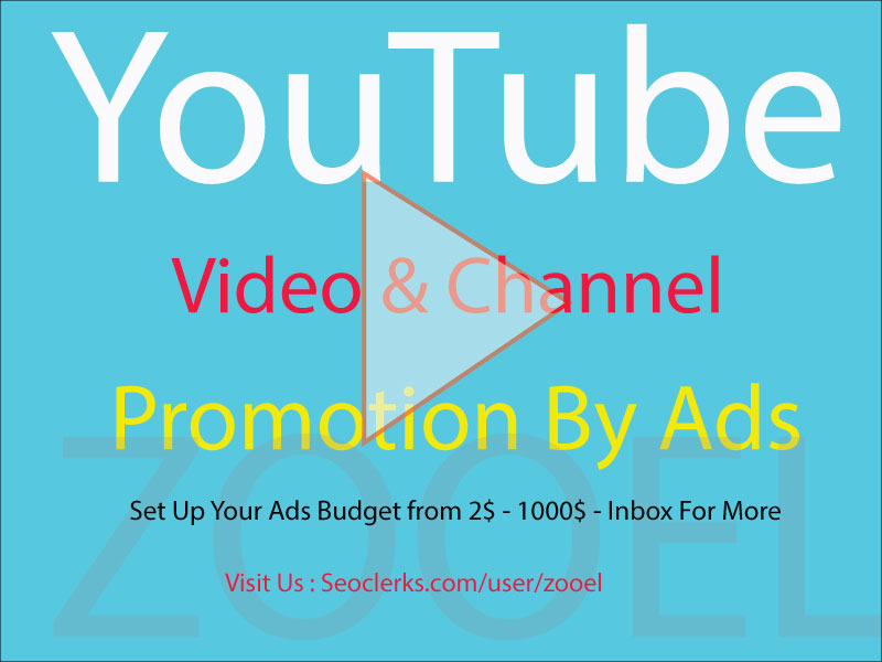 Boost YouTube Video Promotion To Grow Real Audiences Through Ads