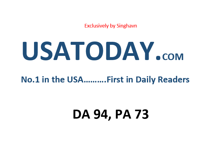 Write Press Release on USATODAY.com DA 94
