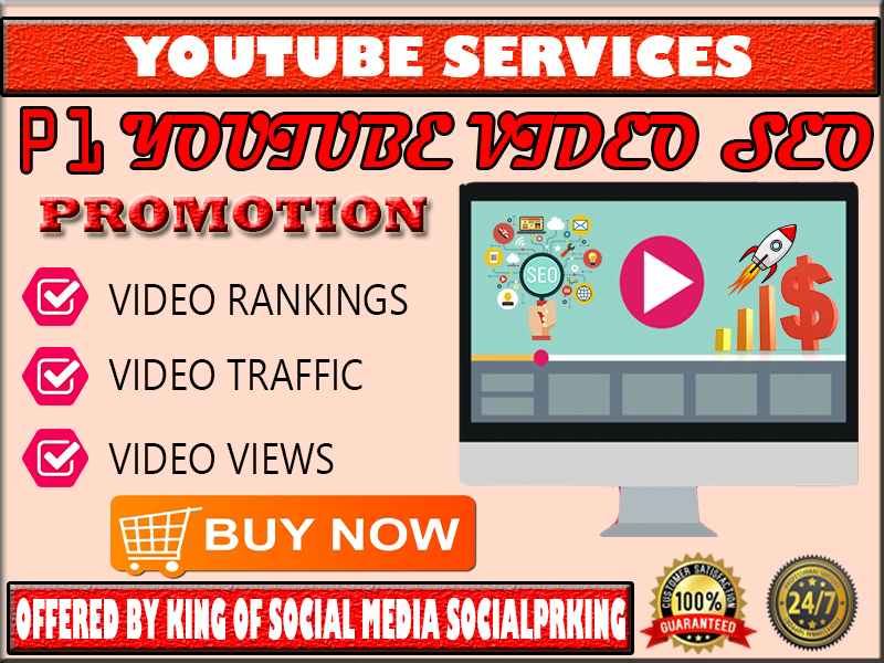 Package 1 Youtube Video SEO Promotion