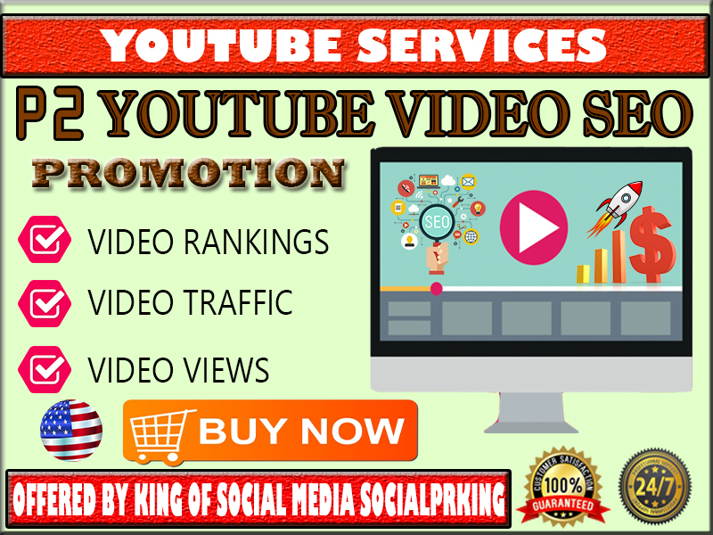 Package 2 Youtube Video SEO US Promotion