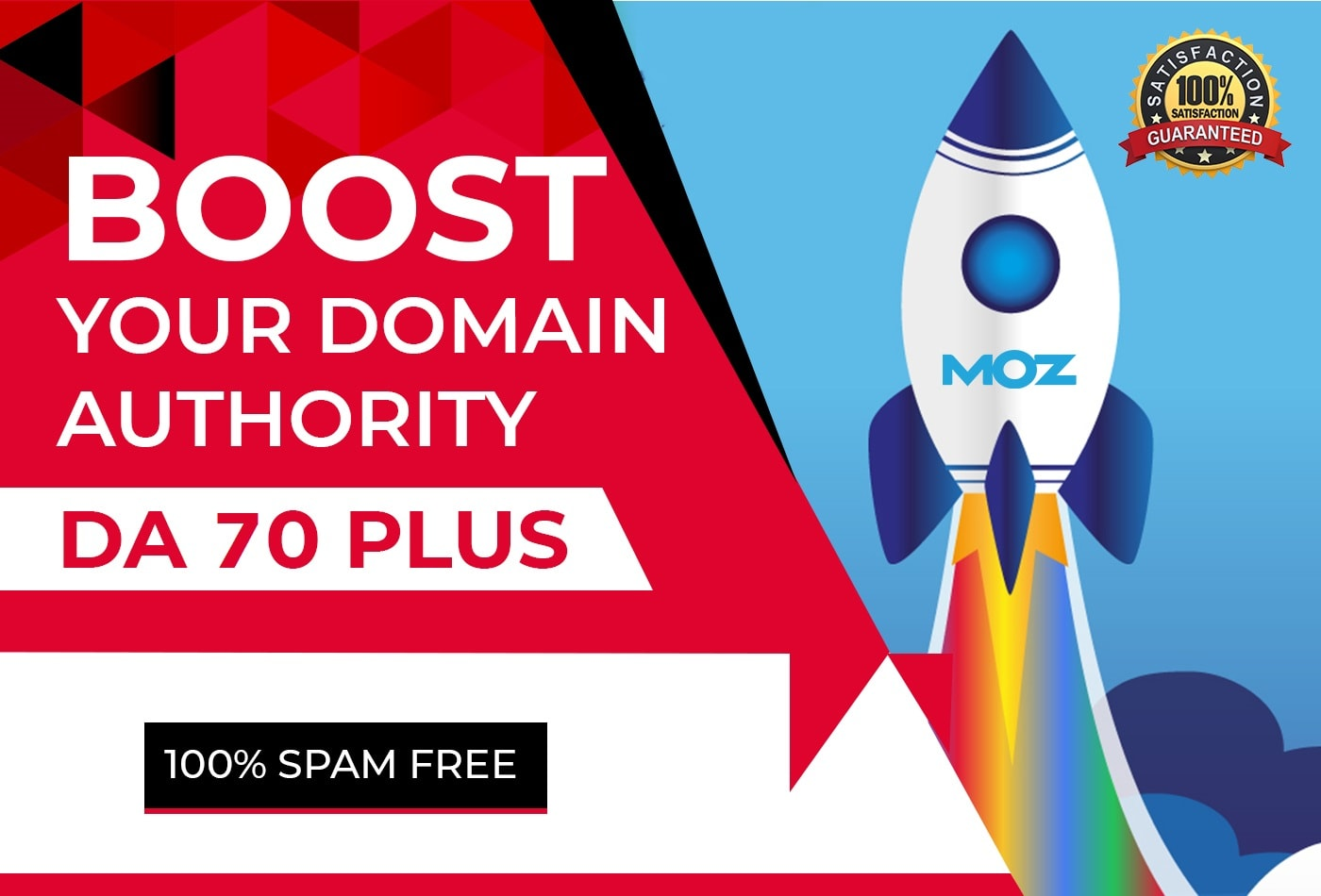 SKYROCKET Your Website MOZ Domain Authority DA 50 Plus
