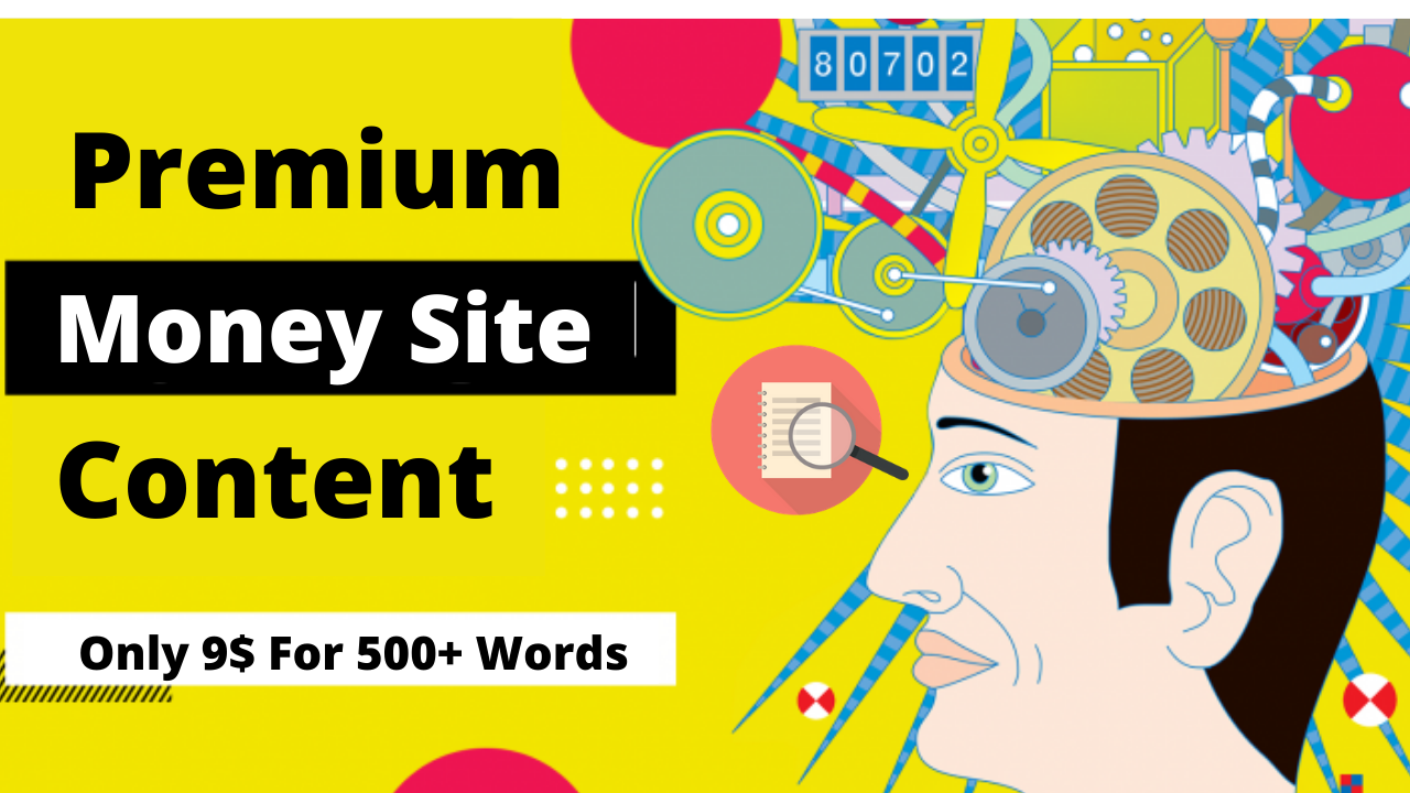 Will Write A 500 Words Money Site Content