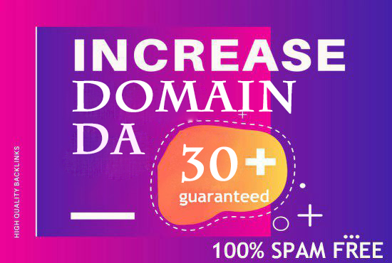 Increase DOMAIN RATING 30+ with high authority backlink