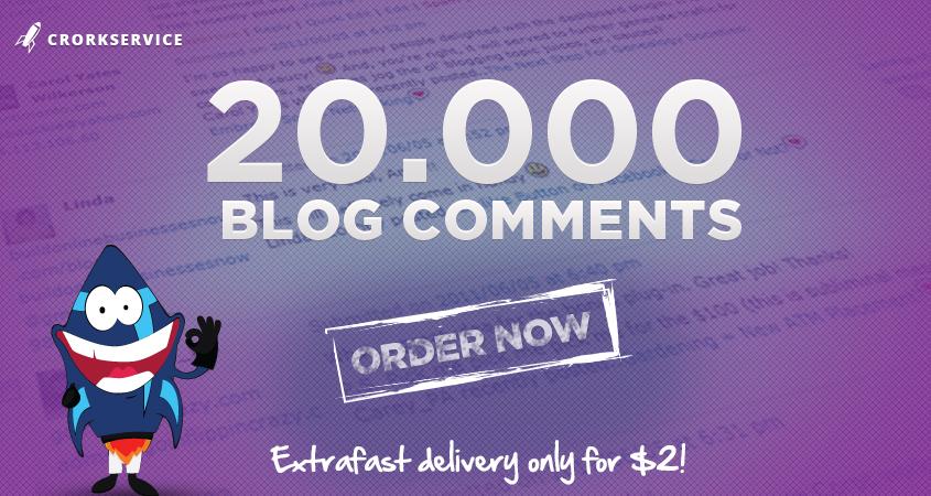 20 000 SEO blog comment backlinks scrapebox linkjuice