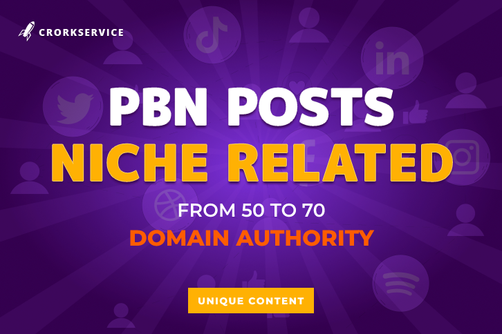 PBN Posts with 50 to 70 Domain Authority
