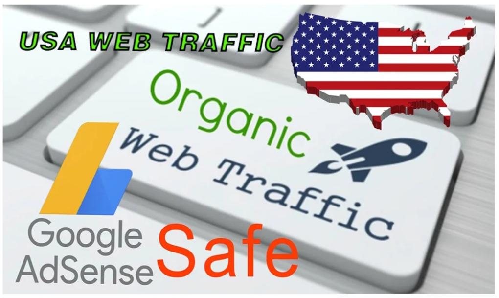 Send 100,000 USA Keyword Targeted, Organic Traffic, Trackable, 100% safe with Google Adsense