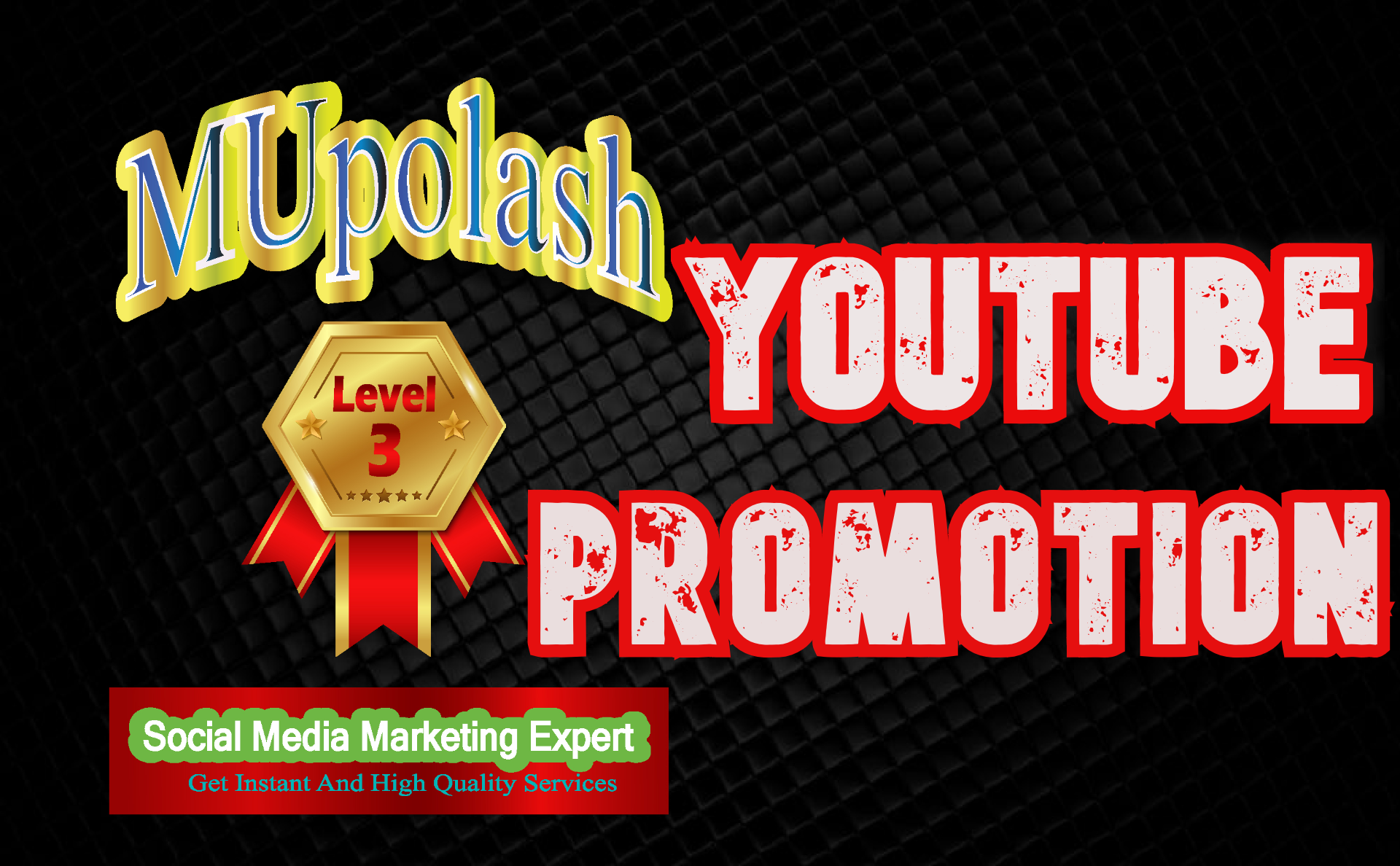 Get instantly video promotion by real peple by manual watch in a organic way.