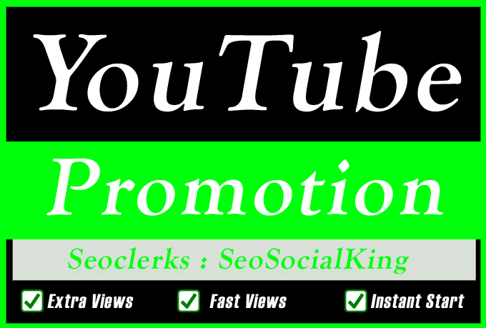 High Quality YouTube Video Promotion and Quality Audience
