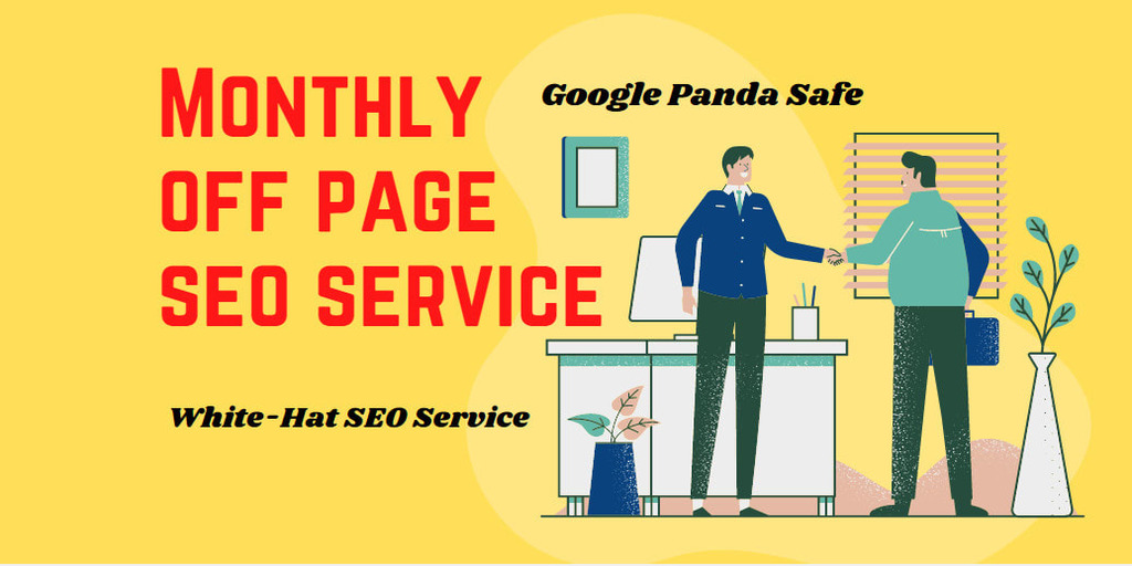 Monthly Off Page SEO Backlinks Package Updated Latest 1st Page Google Algorithms Websites Keywords