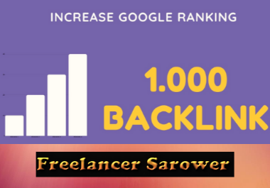 High PR 1000+ Forum & Social backlinks