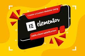 I will design responsive wordpress website using elementor pro