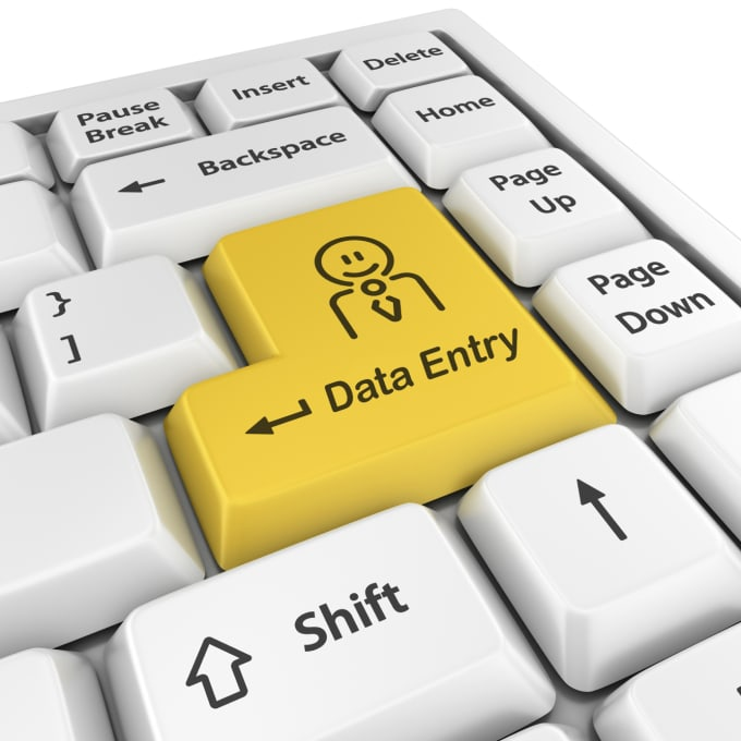 I will do fast and accurate data entry jobs