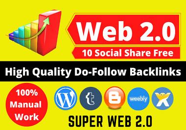 Create 100 Web 2.0 Blog Properties Contextual Backlinks