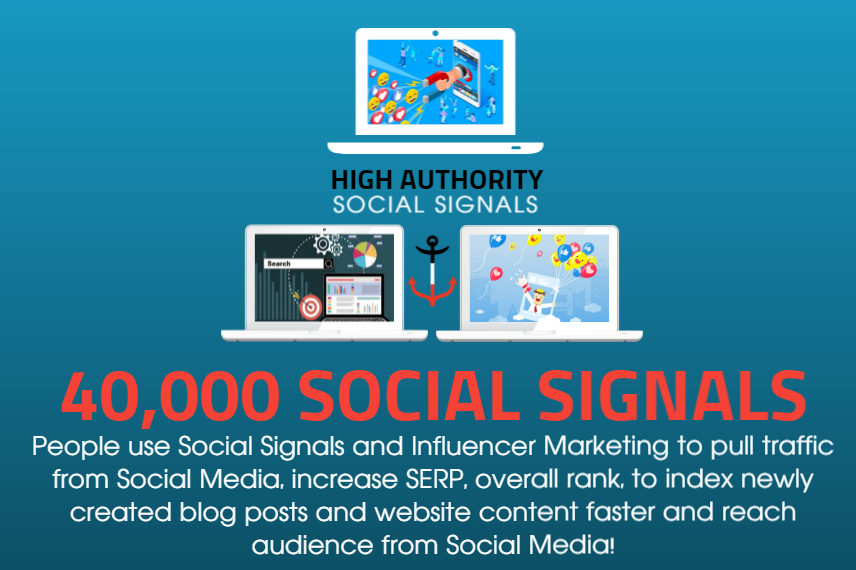 GET 40,000 SOCIAL SIGNALS ON HIGH AUTHORITY PAGES TO BOOST YOUR RANK,  TRAFFIC AND SEO SCORE