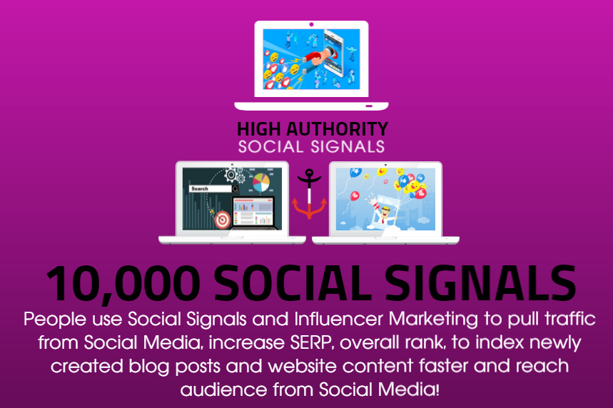 GET 10,000 SOCIAL SIGNALS ON HIGH AUTHORITY PAGES TO BOOST YOUR RANK, TRAFFIC AND SEO SCORE