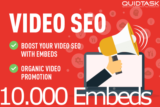 Get 10,000 YouTube Embeds and Signals for your video