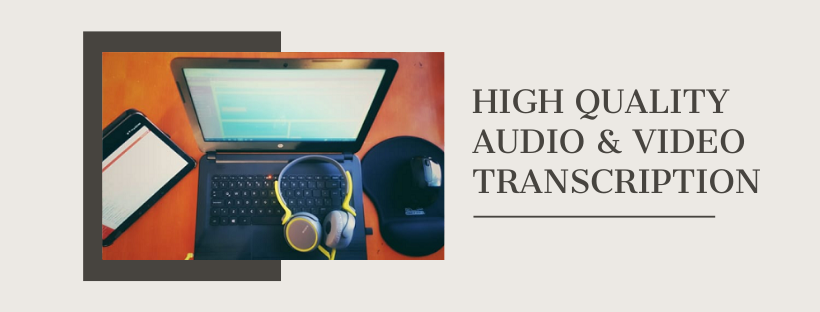 I will transcribe audio and do video transcription - Fast transcription 10 minutes or less