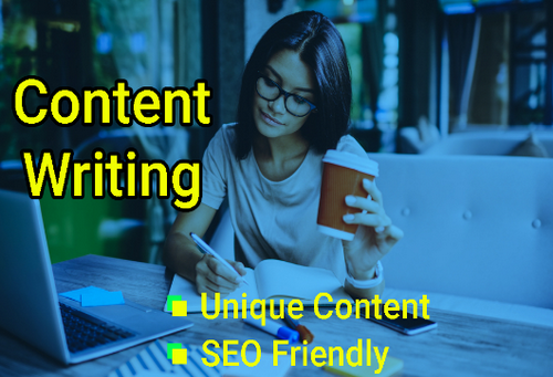 Write 500++ Words High Quality Article