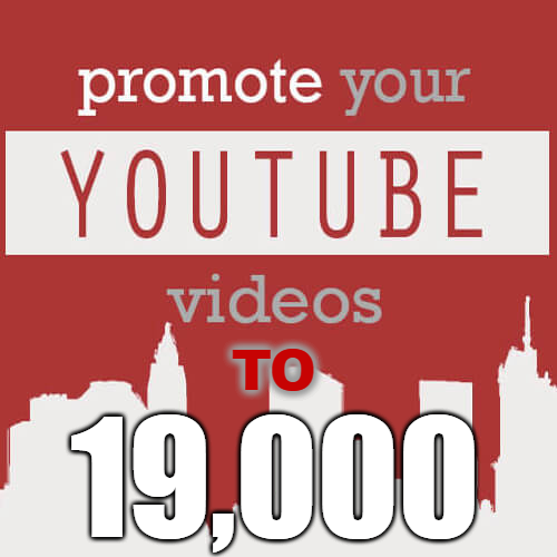 I will upload your video to Youtube page that has 19000 Fans