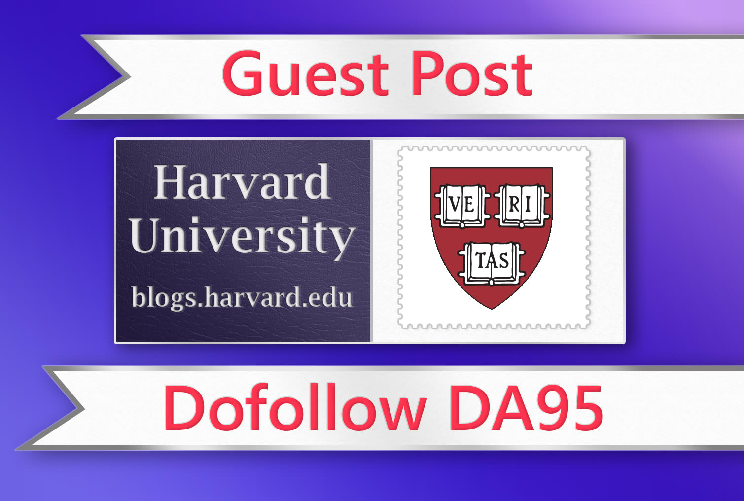 will publish a guest post with backlink in harvard edu da95