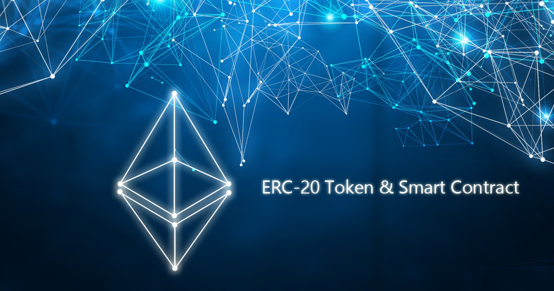 I will create Your own crypto,  Erc20 token and smart contract
