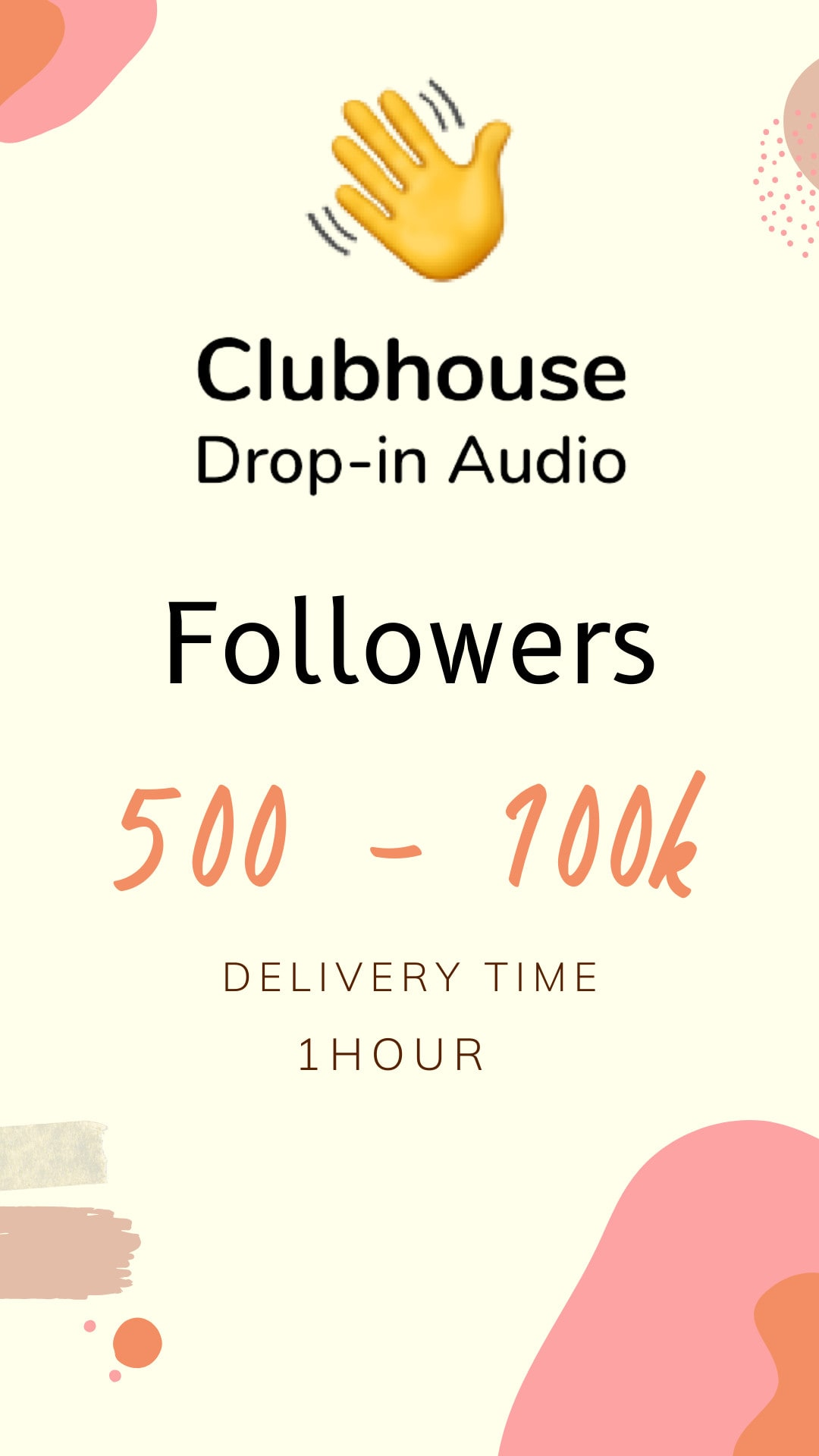 Clubhouse optimisation service for profile boost