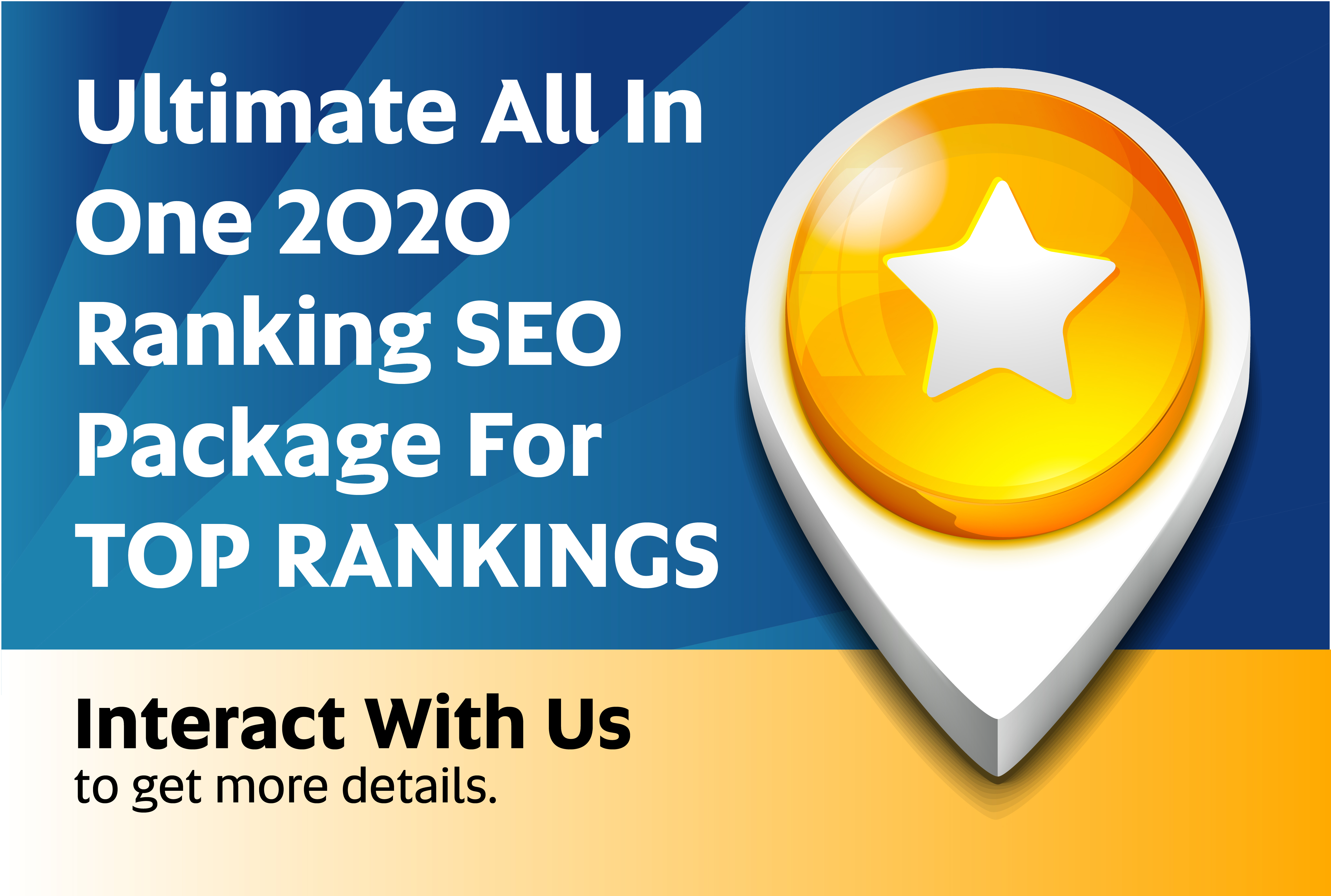 I will rank your website in just 20 days with 2020 ultimate SEO ranking package