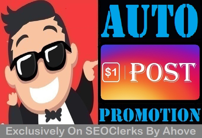 Automatic Promotion To Your Upcoming Posts (Read Details First)