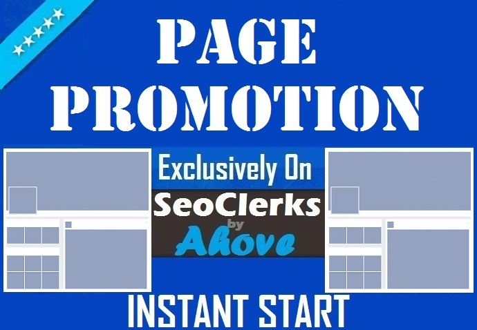 Get Instant Your Social Page Promotion