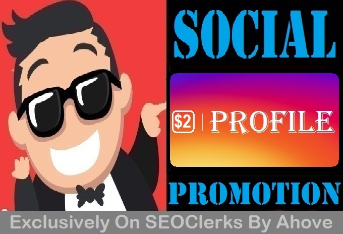 Add Social Meidia Profile Promotion Offer2