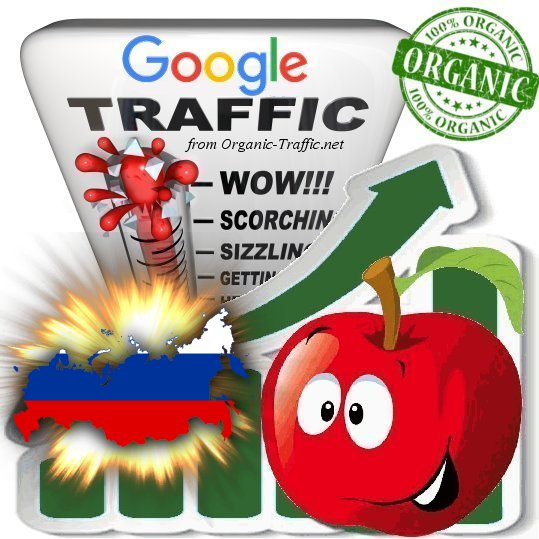 Russian Search Traffic from Google. ru with your Keywords