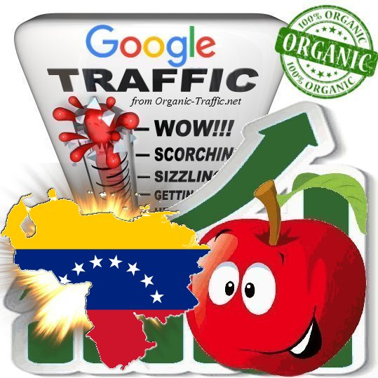 Venezuelan Search Traffic from Google. co. ve with your Keywords