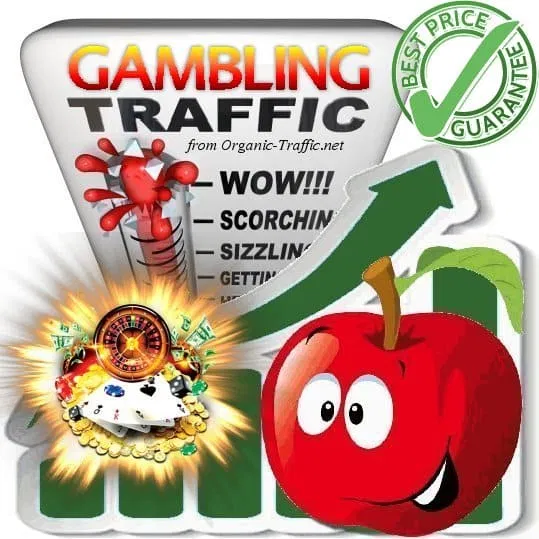 Organic traffic for Gambling sites (Casino)
