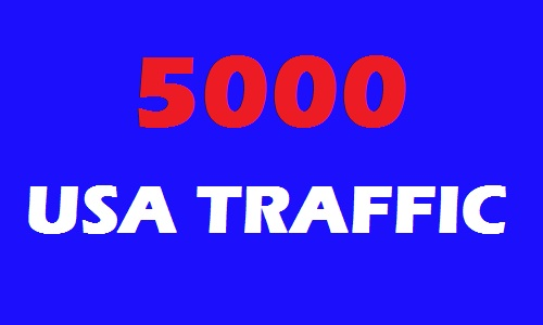 5000 USA Web Traffic for 15 days